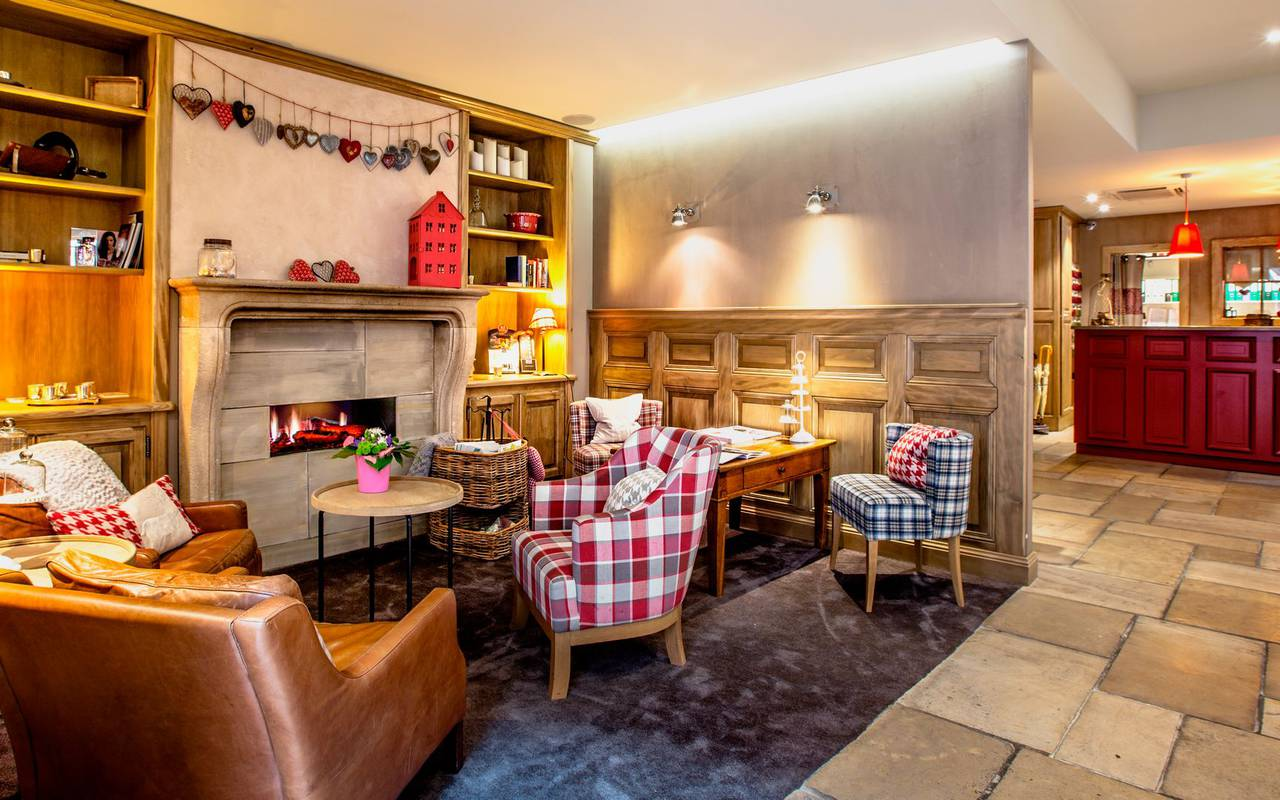 Warm spaces at the Beaucour hotel