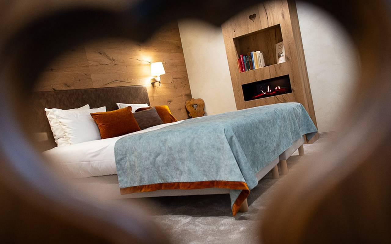 Chic Alsace hotel room