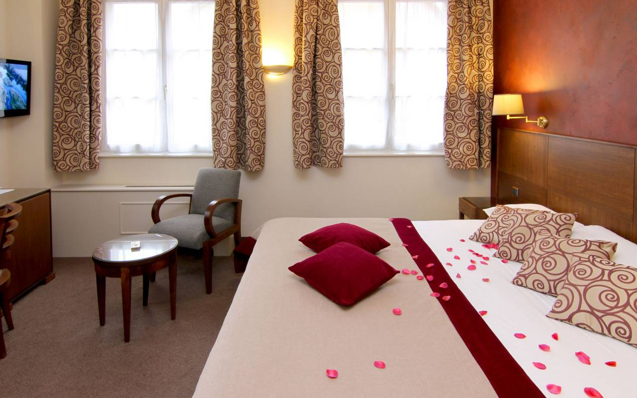 Comfortable room romantic weekend in Alsace