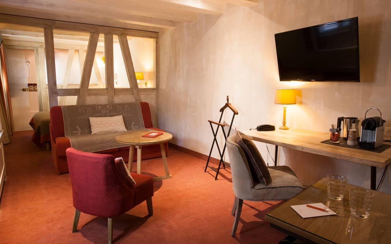 Suite with activity corner Strasbourg