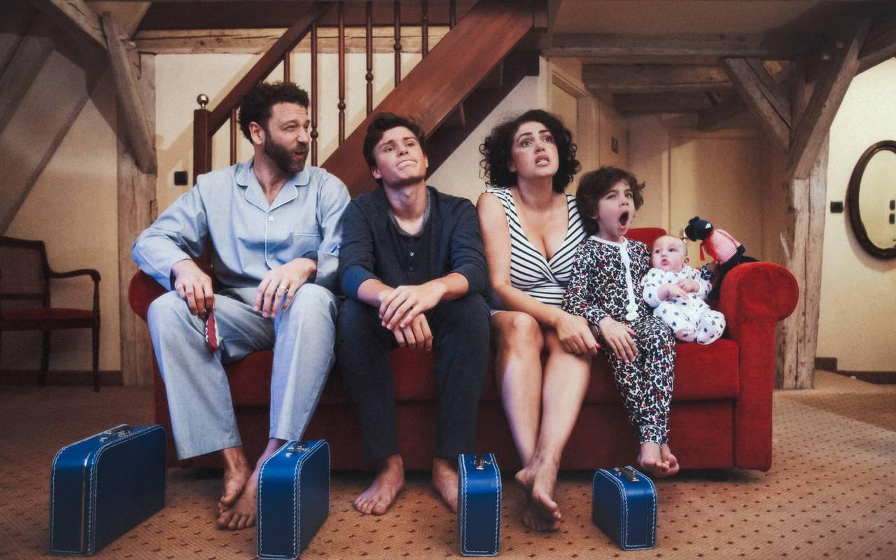 Family staying in hotel Strasbourg