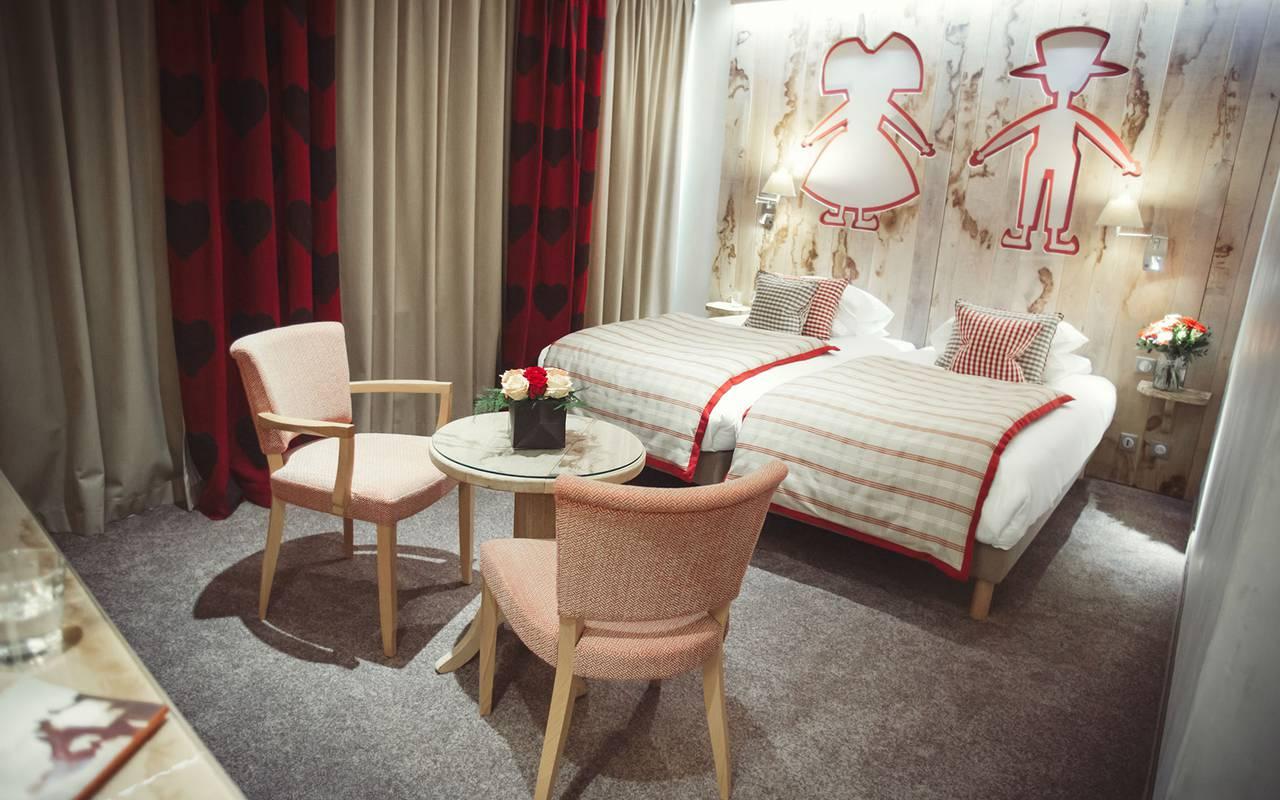 Chambres élégantes hôtel Strasbourg
