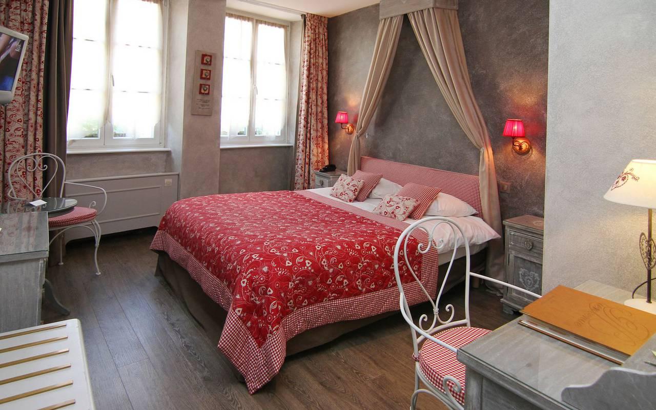 Chambre moderne hébergement Alsace