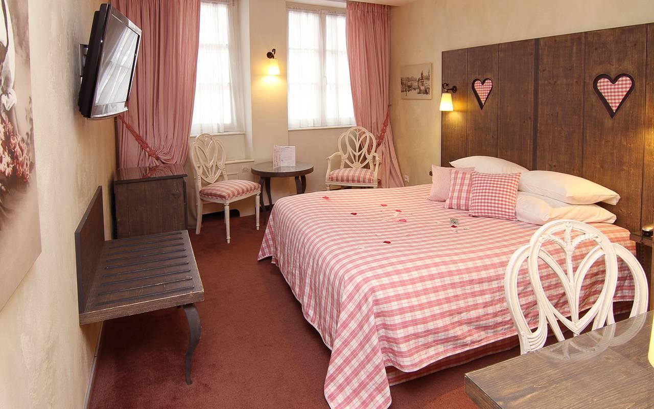 Chambre romantique hôtel centre ville de Strasbourg