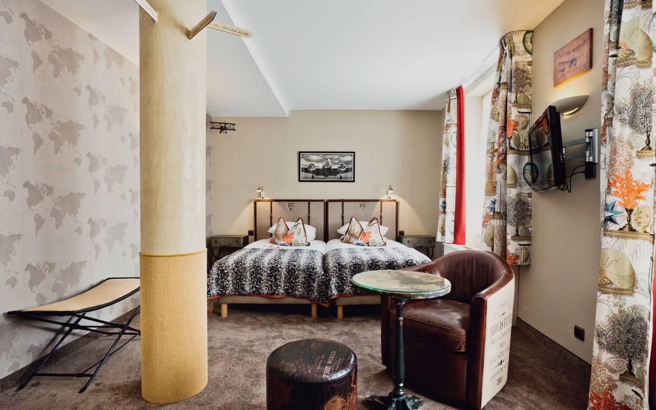 Hôtel confortable week end amoureux strasbourg