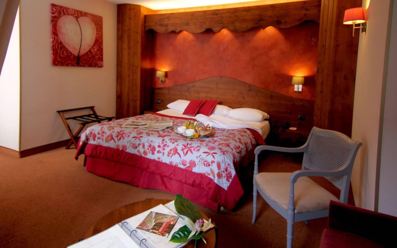 Chambre romantique nuit hôtel strasbourg