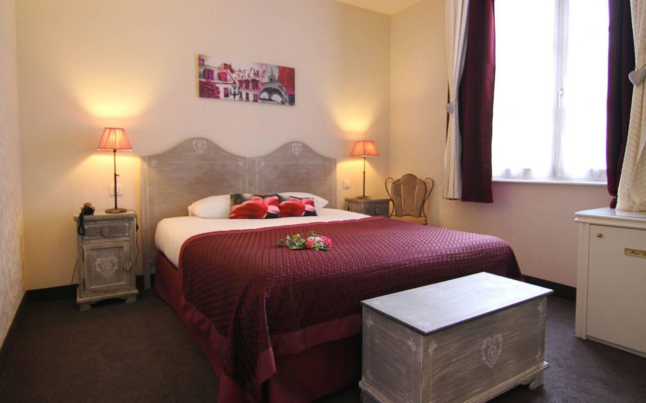 Chambre confort hôtel charme Strasbourg