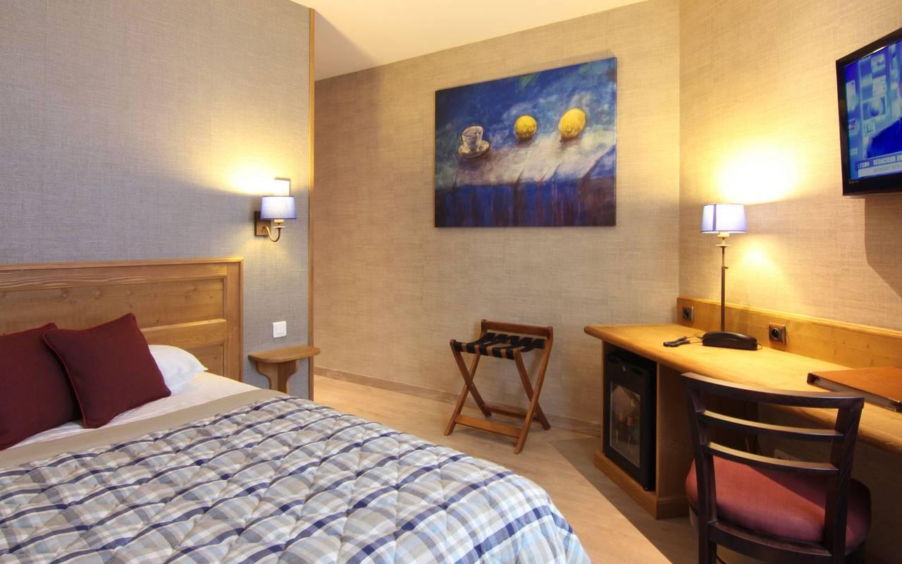 Chambre single hôtel de charme alsace